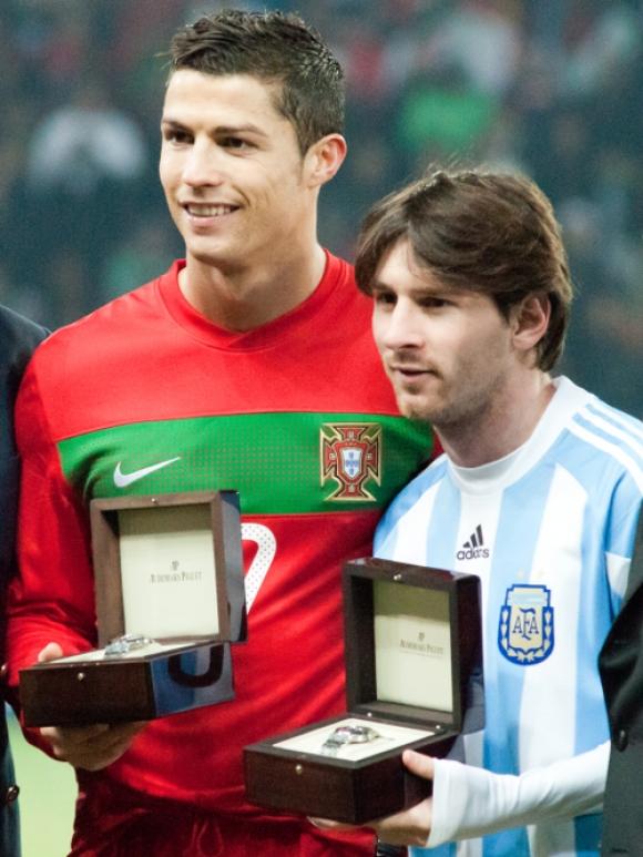 Liga Mistrzów: Ronaldo i Messi w klubie 100 bramek